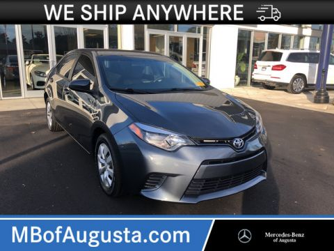 Pre-Owned 2015 Toyota Corolla LE Plus Front Wheel Drive Sedan