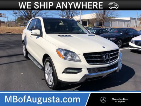 Pre-Owned 2012 Mercedes-Benz M-Class ML 350 AWD 4MATIC®