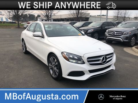 Certified Pre-Owned 2016 Mercedes-Benz C 300 Rear Wheel Drive Sedan