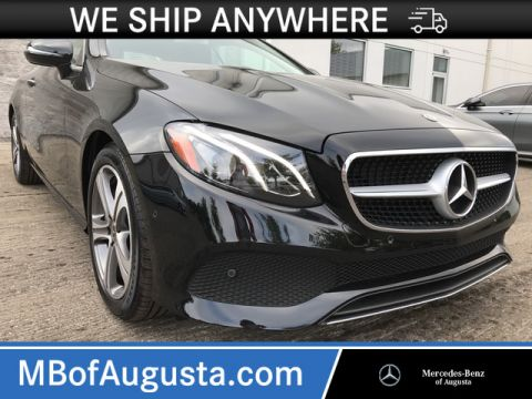 New 2018 Mercedes-Benz E 400 Rear Wheel Drive Coupe