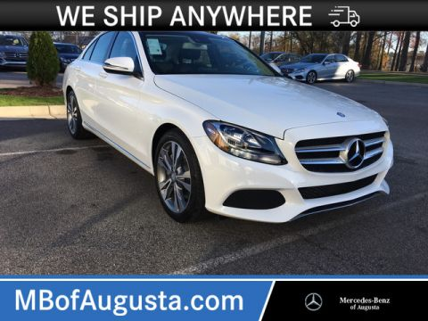 Pre-Owned 2017 Mercedes-Benz C 300 Rear Wheel Drive 4dr Car