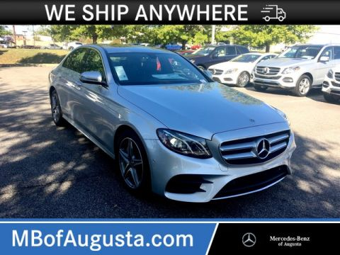 Pre-Owned 2018 Mercedes-Benz E 300 Rear Wheel Drive Sedan