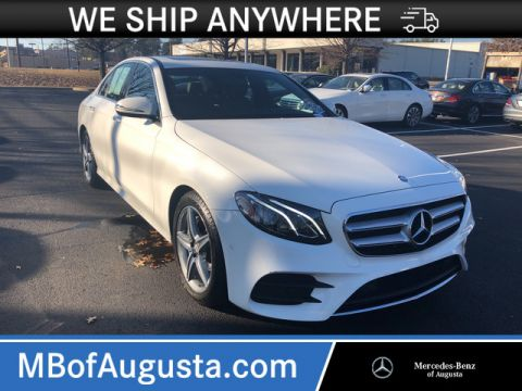Pre-Owned 2017 Mercedes-Benz E 300 Luxury Rear Wheel Drive 4dr Car