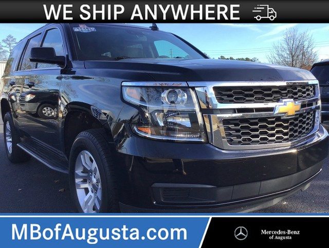 Pre-Owned 2019 Chevrolet Tahoe LT 4WD-Second Row Captain Seats