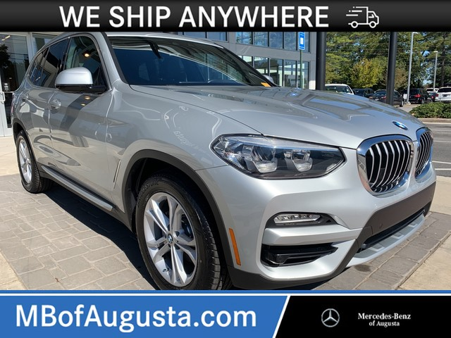 Pre-Owned 2019 BMW X3-Navigation-Panoramic Roof-Heated Seats sDrive30i