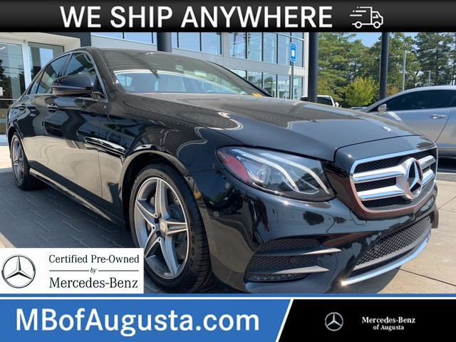 Certified Pre Owned 2017 Mercedes Benz E 300 Rear Wheel Drive Sedan