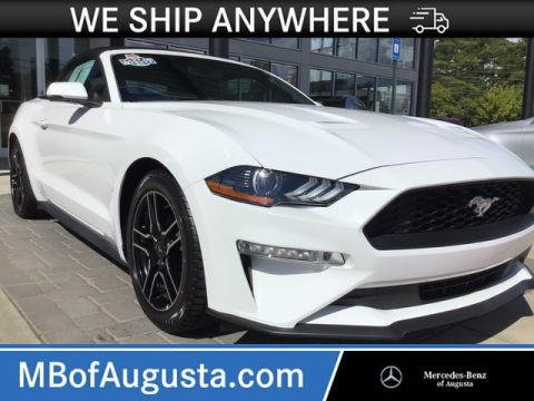 Pre-Owned 2018 Ford Mustang EcoBoost Premium-Leather-Heated and Cooled Seats
