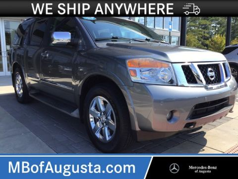 Pre-Owned 2013 Nissan Armada 4WD Platinum-Navigation-DVD Headrests