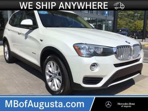 Pre-Owned 2016 BMW X3 AWD xDrive28i