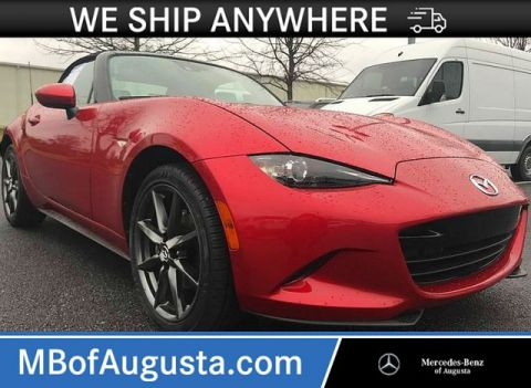 Pre-Owned 2017 Mazda MX-5 Miata Grand Touring Convertible