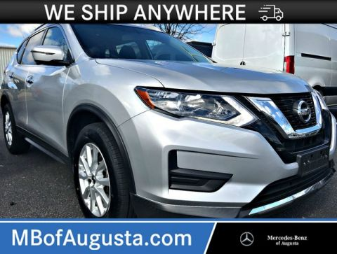 Pre-Owned 2017 Nissan Rogue SV AWD-Navigation-Surround Camera-Blind Spot