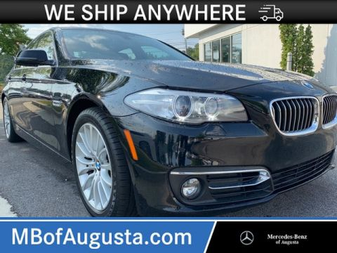 Pre-Owned 2015 BMW 528i Navigation-Rearview Camera-Heads Up Display-Heated Seats