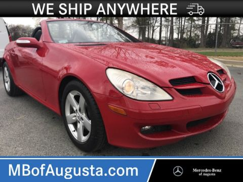 Pre-Owned 2006 Mercedes-Benz SLK 3.0L Roadster