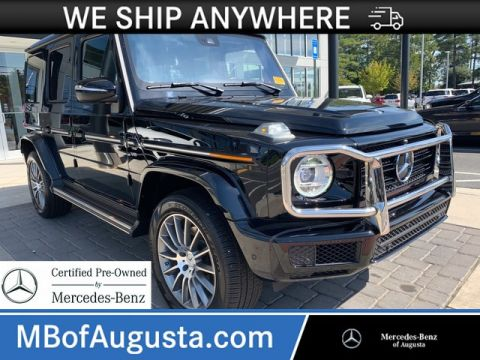 Certified Pre-Owned 2019 Mercedes-Benz G-Class G 550